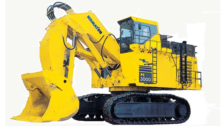 Komatsu product; pic for representation purpose only