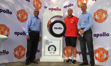 Apollo Tyres launches Manchester United Tyre in India