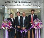 Apollo Tyres makes Thailand its ASEAN hub