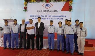 Asahi India Glass commences commercial production at Taloja Float Glass Plant