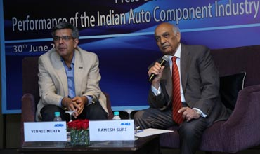 Auto Component Industry grows by 11pc in FY 14-15