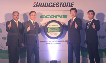 Bridgestone India launches fuel efficient tyres Ecopia