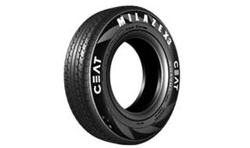 Ceat launches high mileage tyres - Milaze X3 with a range of 1 lakh kilometers