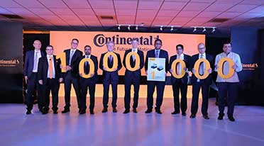 Continental Gurgaon celebrates 1 million units of Electronic Brake Systems