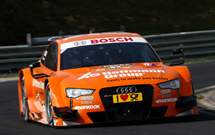 DTM cars race with critical Bosch parts