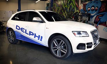 Delphi, Ottomatika offer solutions to automated driving