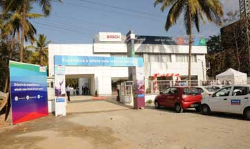 First fully owned Bosch Car Service Centre in Bengaluru