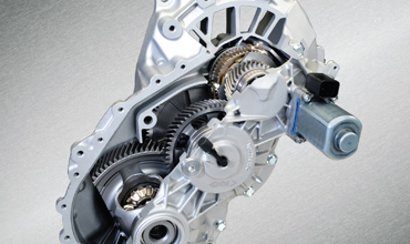 GKN produces world's first two-speed eAxle for hybrids, EVs