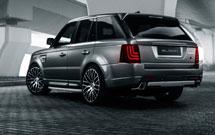 Glohh lights up original Range Rover Sport