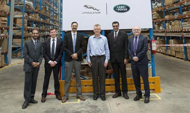 Jaguar Land Rover India has a new parts distribution centre