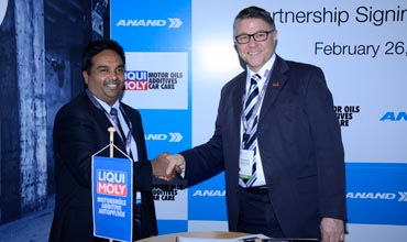 Liqui Moly and Anand Automotive partner in India