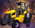 Mahindra entry into construction equipment busines