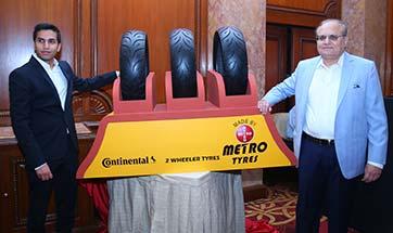 Metro Tyres forays into motorcycle radial tyres
