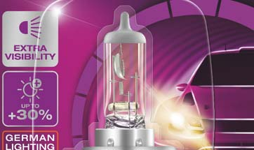 Osram unveils high performance automotive lighting product range– 'Rallye'