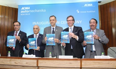 Over 400 companies from 16 countries at ACMA Automechanika New Delhi