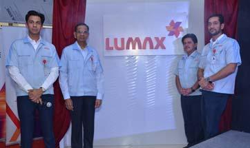 Rs 2500 crore Lumax DK Jain Group unveils new brand identity