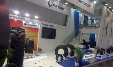 TVS Eurogrip showcases flotation radial tyres at Reifen 2016