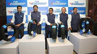 TVS Srichakra launches Brand TVS Eurogrip