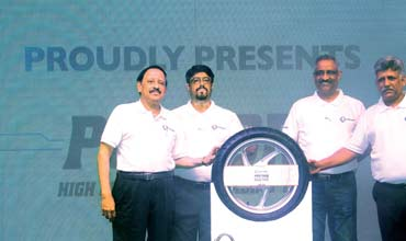 TVS Tyres launches 'Protorq' radial tyres for motorcycles in South India