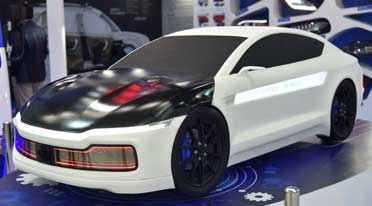 Varroc Group exhibits 'Excellence'; displays concept car