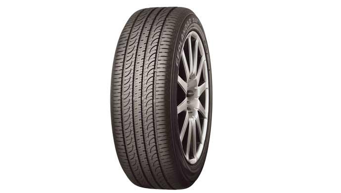 The new Yokohama tyre