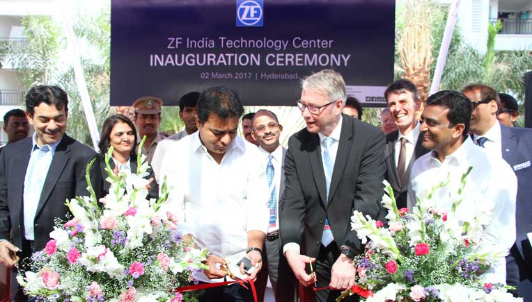 ZF inaugurates first Technology Centre in India