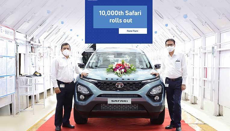 10,000th Tata Safari rolls out of manufacturing facility