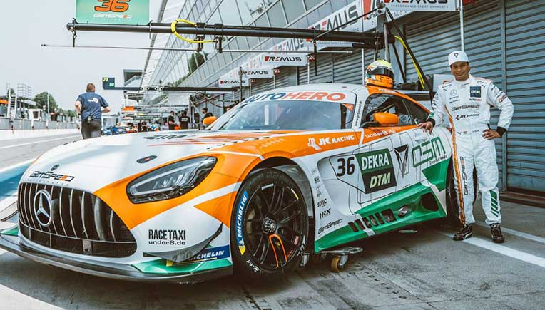 Omega Seiki Mobility inks deal with Arjun Maini for DTM race