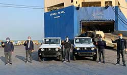 Maruti Suzuki begins production and export of Jimny SUV from India