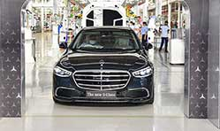 Mercedes-Benz India starts local production of new S-Class