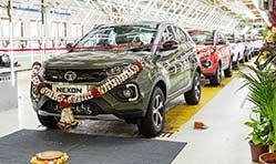 Tata Motors rolls out 2,00,000th Nexon compact SUV at Pune plant