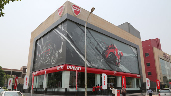 Ducati Showroom In Goa