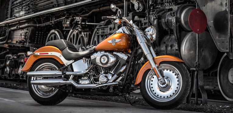 25 years of the iconic Harley-Davidson Fat Boy