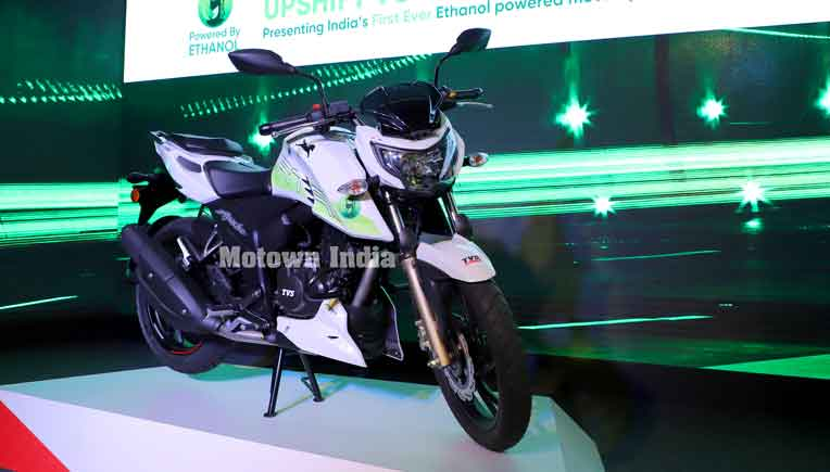 Ethanol powered TVS Apache RTR 200 Fi E100 launched at Rs 1.20 lakh