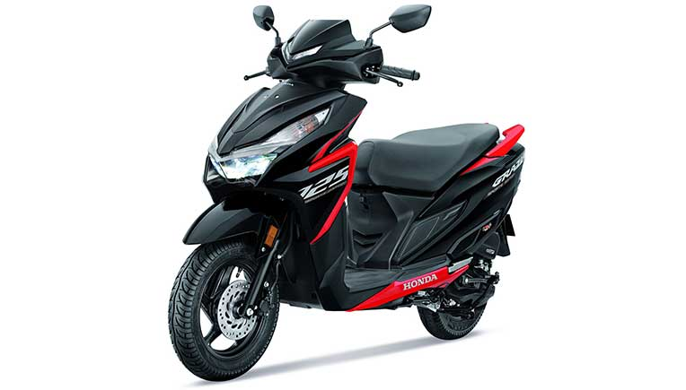Honda launches all-new Grazia Sports Edition at Rs 82,664