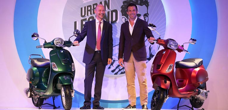 New 150 cc premium Vespa range launched at Rs 84641 onward