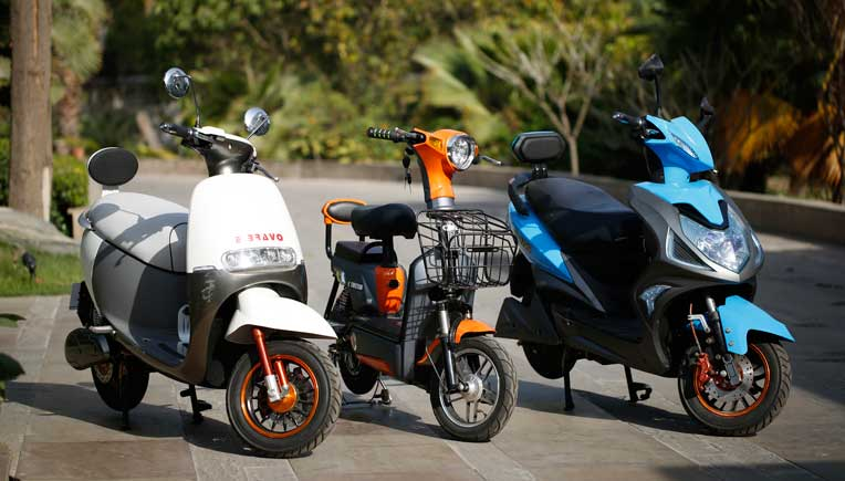OK Play launches new models of electric two wheelers