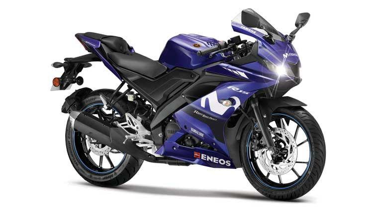 Yamaha YZF-R15 Version 3.0 Moto GP Limited Edition introduced; two new colour options for FZS-FI