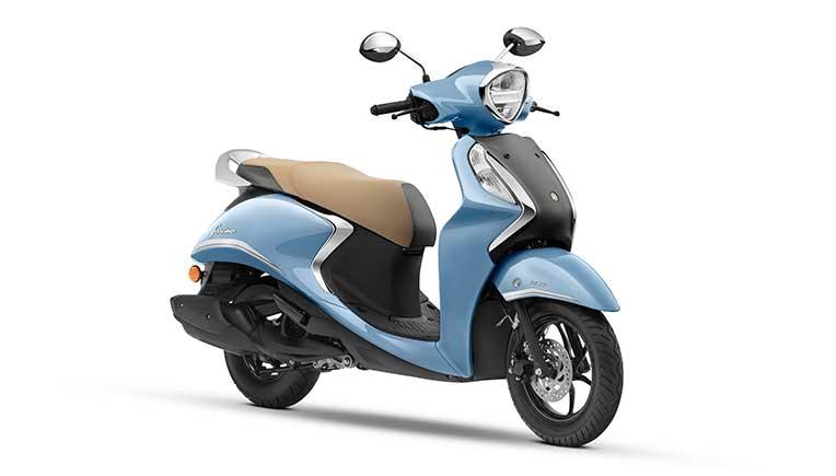 Yamaha launches new hybrid powered Fascino 125 Fi