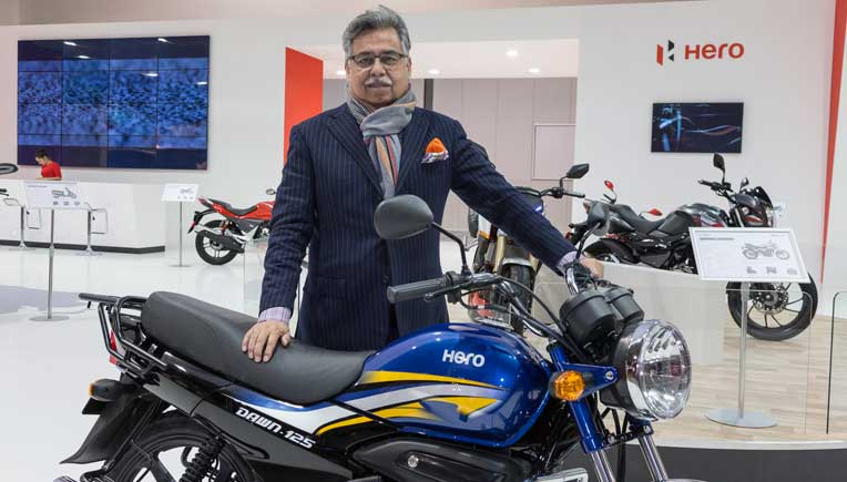 Hero MotoCorp Unveils New Dawn 125 Motorcycle At EICMA 2016