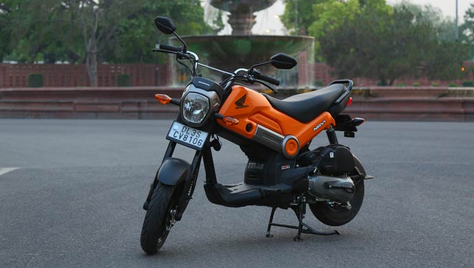 Honda Navi A Motorcycle Or Scooter Transport Authorities Play Safe