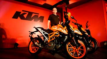 All-new KTM bikes 390 Duke, 250 Duke, 200 Duke launched