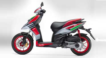 Aprilia brings in second crossover sport-scooter for Rs 70288