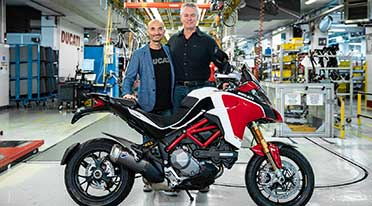 Ducati Multistrada hits 100,000 mark, that deserves multi stars!