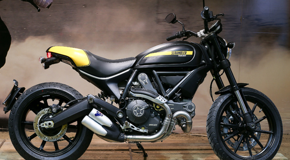 Ducati Scambler scrambles away with glory at 2014 EICMA