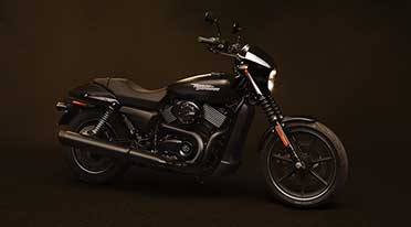 Harley-Davidson bikes at Canteen Store Departments across India