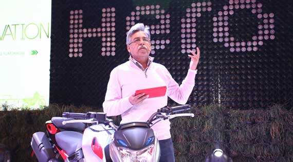 Hero MotoCorp unveils a spate of two-wheelers