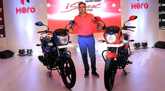Hero MotoCorp launches new 110cc Splendor iSmart for Rs. 53,300