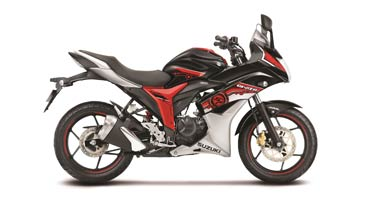 New Gixxer SP 2017 series for Rs 81,175 onward