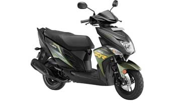 New colours in Yamaha Cygnus Ray ZR scooter